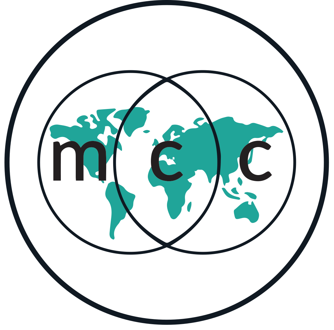 MCC logo in teal & black